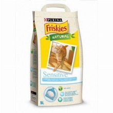 Clumping Cat Litter Friskies Natural Sensitive