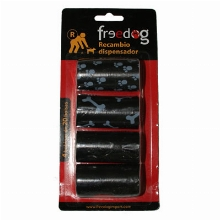 Freedog Replacement Bag Carriers 80 Bags Black