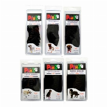 Pawz Dog Boots for Dogs Black Color