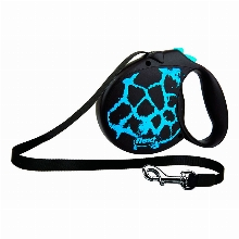 Retractable Leash flexi Safari Blue Giraffe