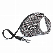 Retractable Leash flexi Fashion Glencheck