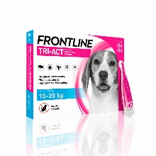 Frontline Tri-Act Spot on for Dogs Total Protection 10-20Kg