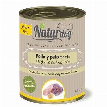 Naturdog  Chicken & Duck with Millet Can