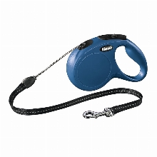 Retractable Leash flexi NEW CLASSIC Basic Long Blue