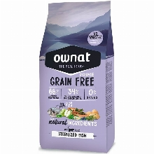 Ownat Grain Free Prime Cat Sterilized Fish