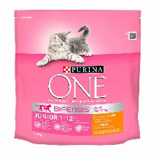 Purina One Cat Junior Chicken & Whole Grains