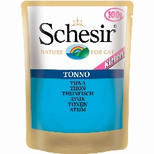 Schesir Pouch Cat Tuna Kitten 100gr