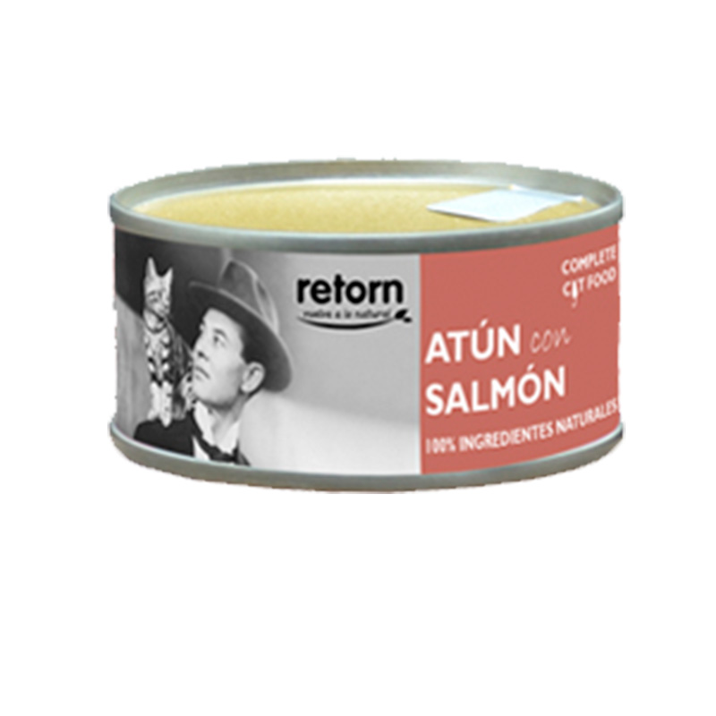 Retorn Cat Tuna with Salmon Can