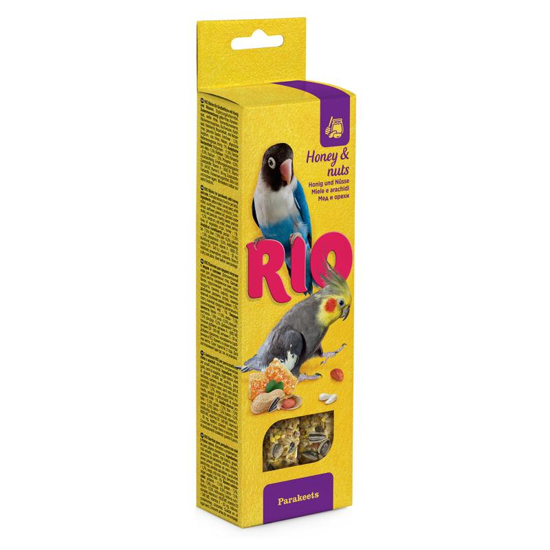 RIO Honey and Nut Bars for Small Parrots