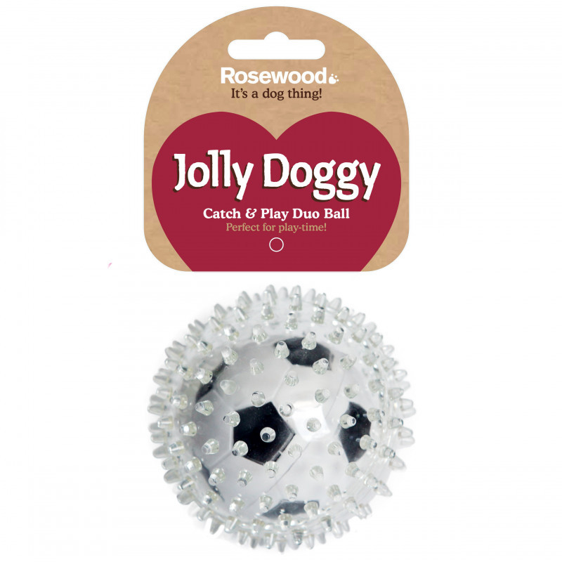 Rosewood Jolly Doggy Football Ball Dog Toy