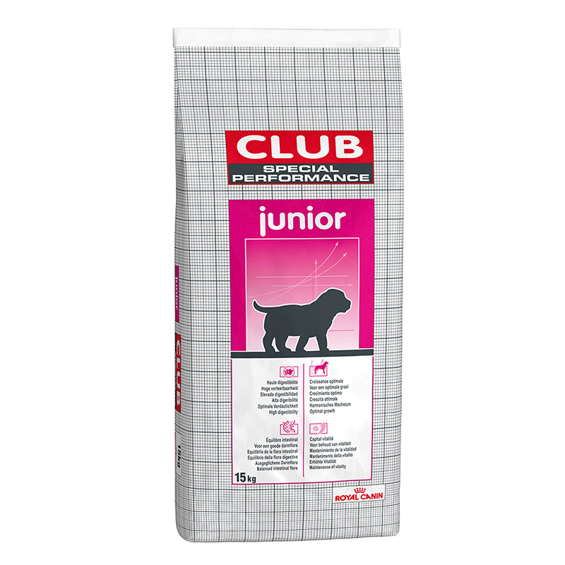 Pienso Royal Canin Club Special Performance Junior 15kg