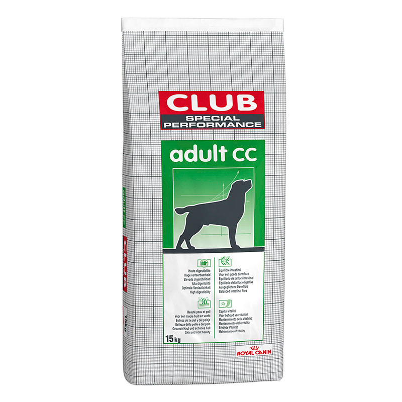 Pienso Royal Canin Club Special Performance Adulto CC 15Kg