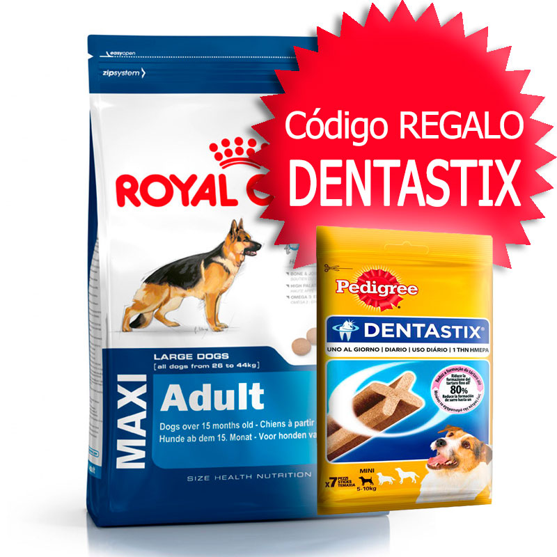 perro alimentaci n pienso royal canin size royal canin maxi adult 15 kg. Black Bedroom Furniture Sets. Home Design Ideas