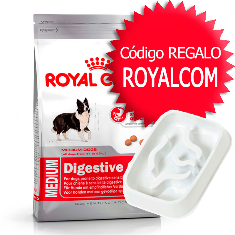 perro alimentaci n pienso royal canin size royal canin medium digestive care. Black Bedroom Furniture Sets. Home Design Ideas