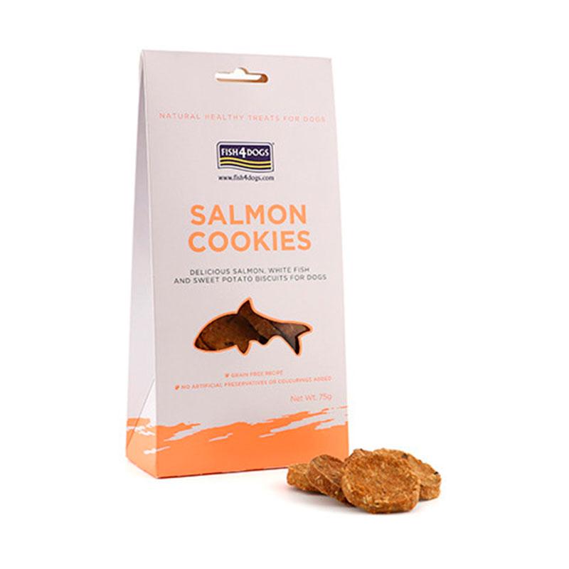 Fish4Dog Salmon Cookies 75 gr