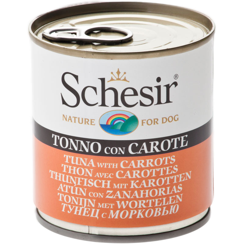 Schesir Can Dog Tuna with Carrots 285gr