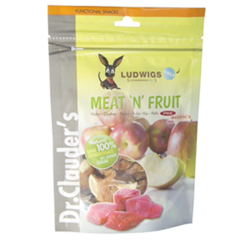 Dr Clauder Snack Meat´n Fruit Apple & Chicken