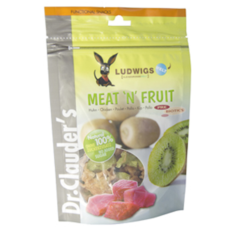 Dr Clauder Snack Meat´n Fruit Kiwi y Pollo