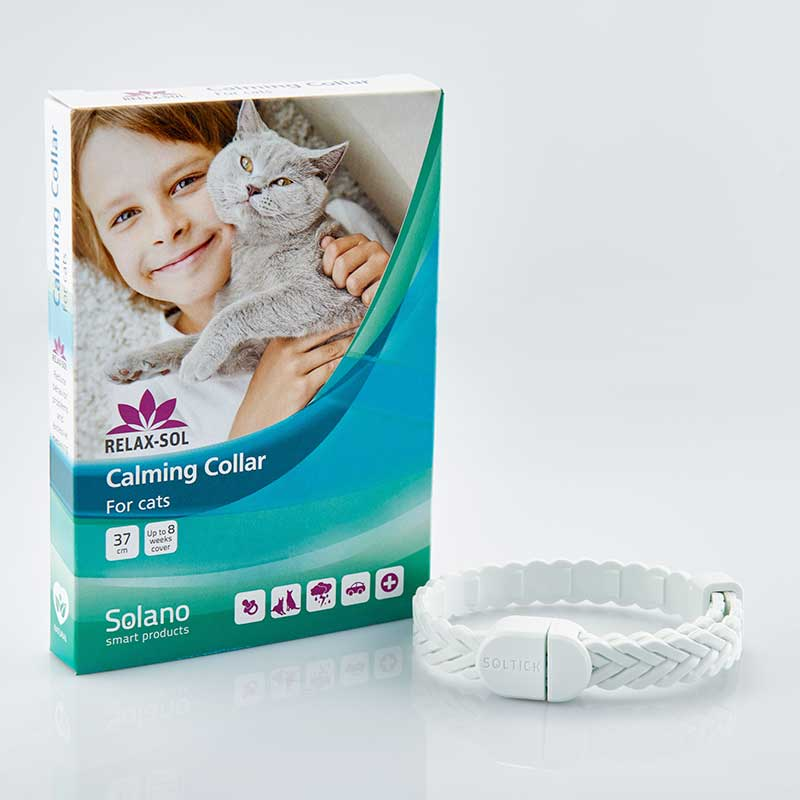 Solano Ecolife Relax Sol Collar for Cats