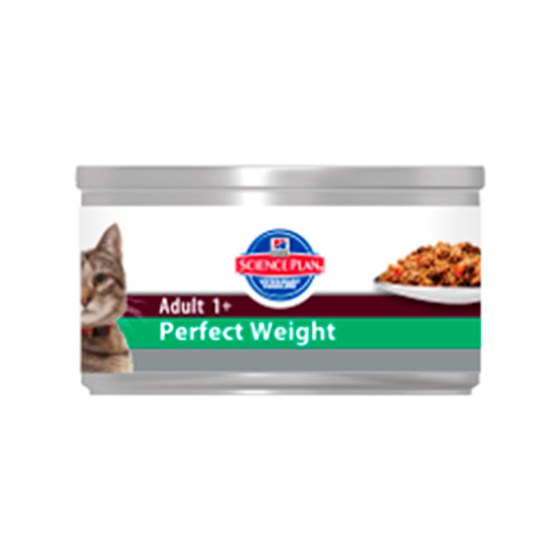 Hill's Science Plan Adult Cat Perfect Weight with Chicken (wet) 82gr