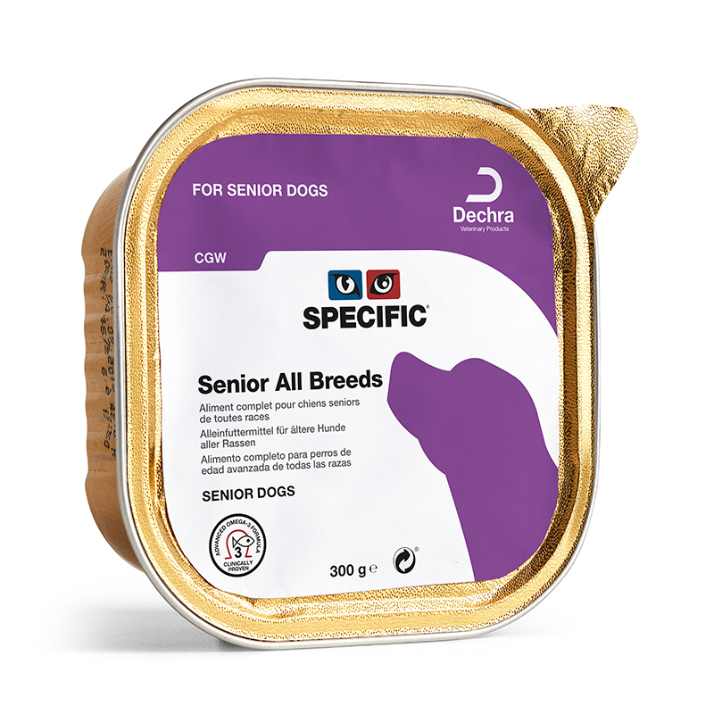 Specific Canine CGW Senior All Breeds  6 x 300gr