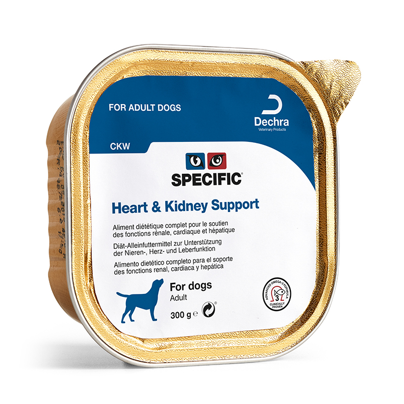 Specific Heart & Kidney Support CKW 6 x 300gr