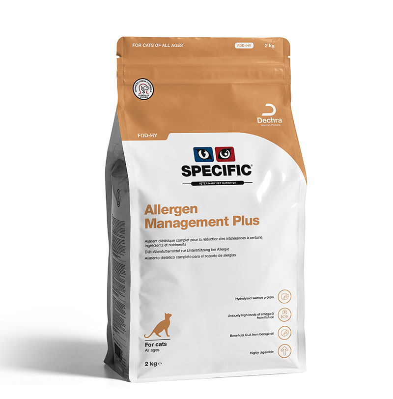 Specific Feline FOD-HY  Allergen Management Plus
