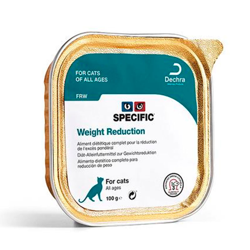 Specific Feline FRW Weight Reduction 7 x 100gr