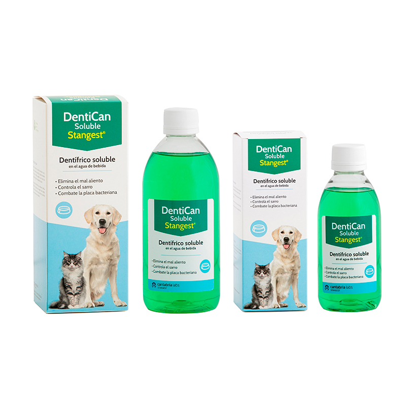 Dentican Soluble Dogs and Cats. Oral Hygiene