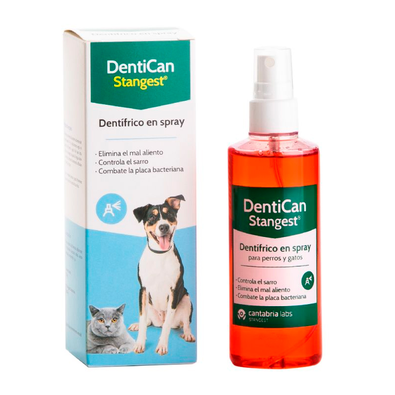 Dentifrice Spray Dentican for Pets