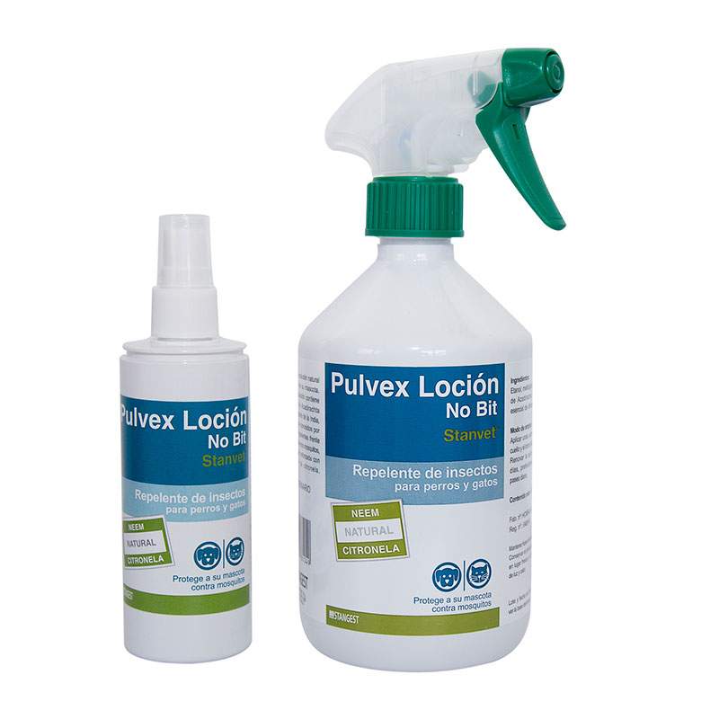 Stanvet Pulvex Lotion Repellent Dogs & Cats