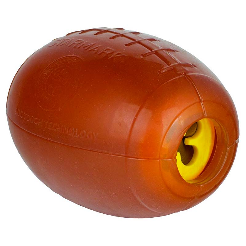 Starmark Dog Toy Dispensing Football