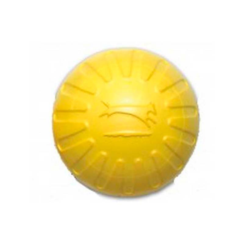 Starmark Dog Toy Fantastic Foam Ball Yellow