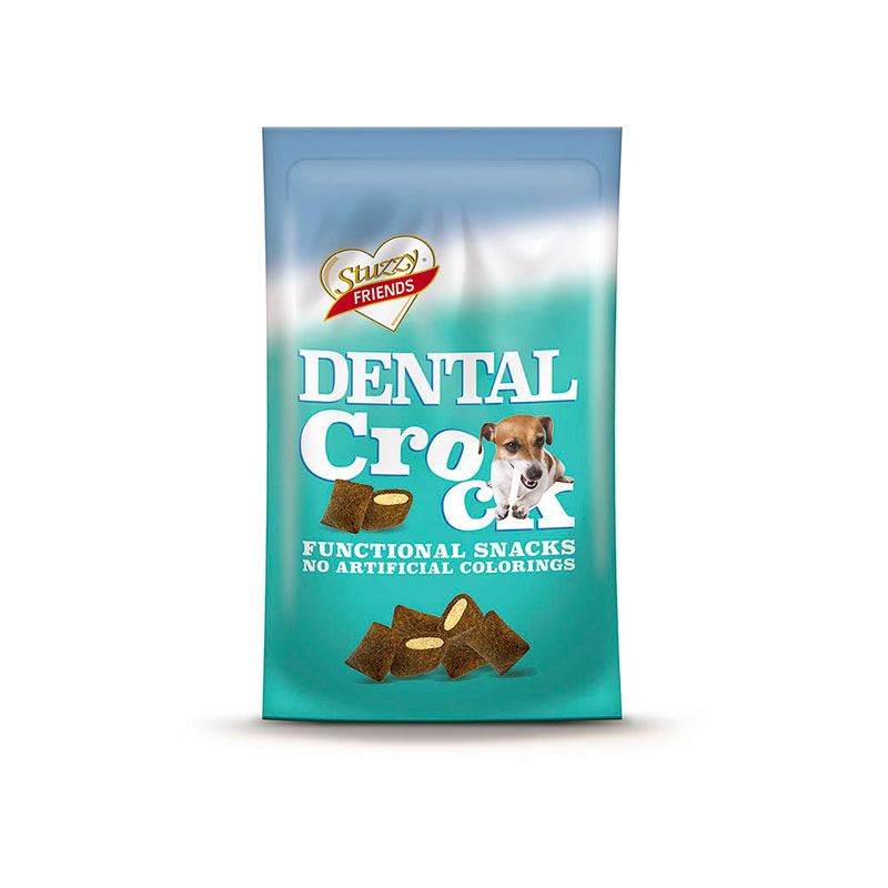 Stuzzy Friends Functional Premios Dental Crock