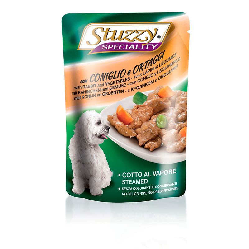 Stuzzy Speciality Dog Pouch Rabbit and Vegetables