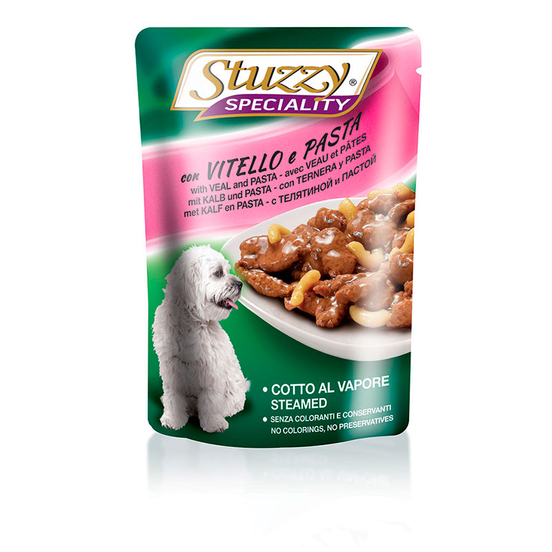 Stuzzy Speciality Dog Pouch Veal and Pasta