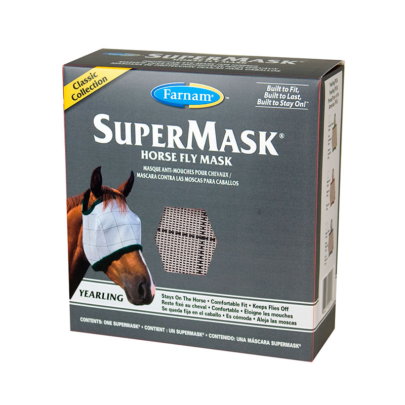 VetNova Supermask Anti-Fly Mask for Horses