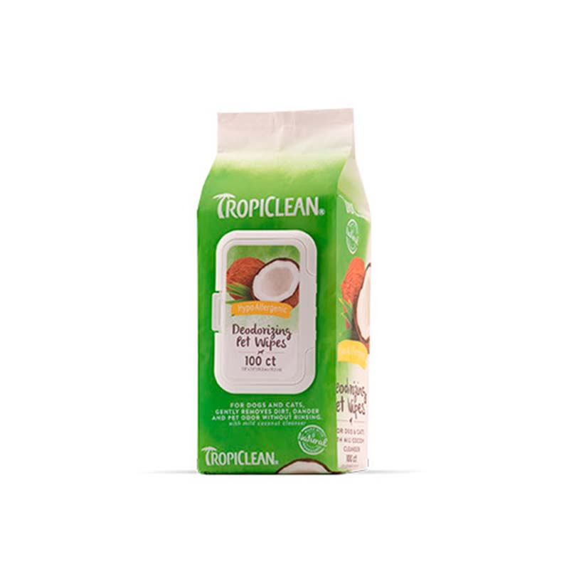 Tropiclean Hypo Allergenic Wipes