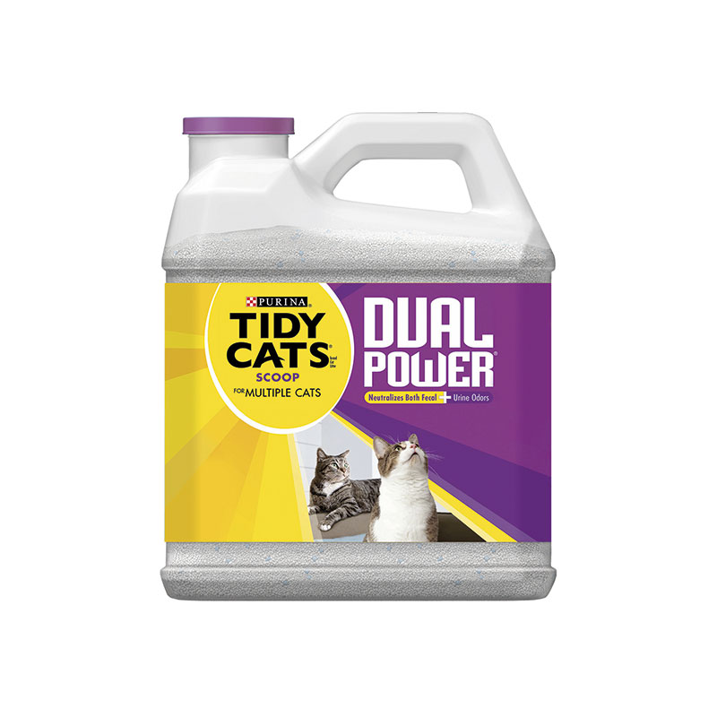 Arena Aglomerante Tidy Cats Dual Power 6,35kg