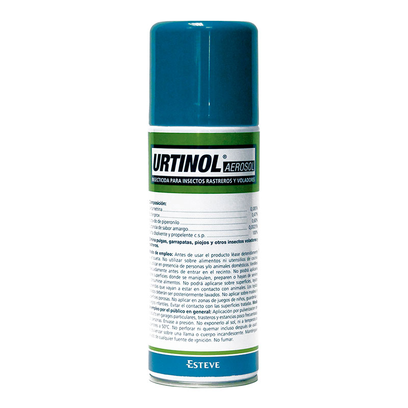 Urtinol Aerosol Descarga Total Ambiental 400ml