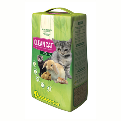 Cat Litter Clean Cat Vegetalia 5Kg