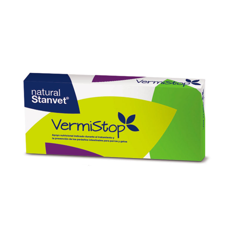 Antiparasitario Interno Natural Vermistop