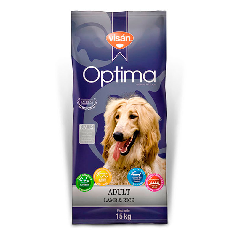 Visan Optima Adult Lamb & Rice