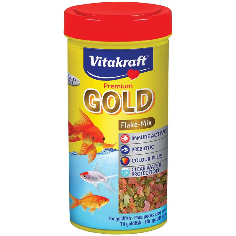 Vitakraft Menu Vita Gold Flakes Cold Water Fish