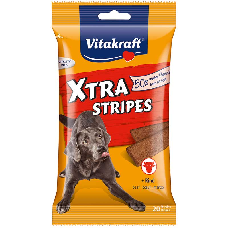 Vitakraft Xtra Stripes Beef
