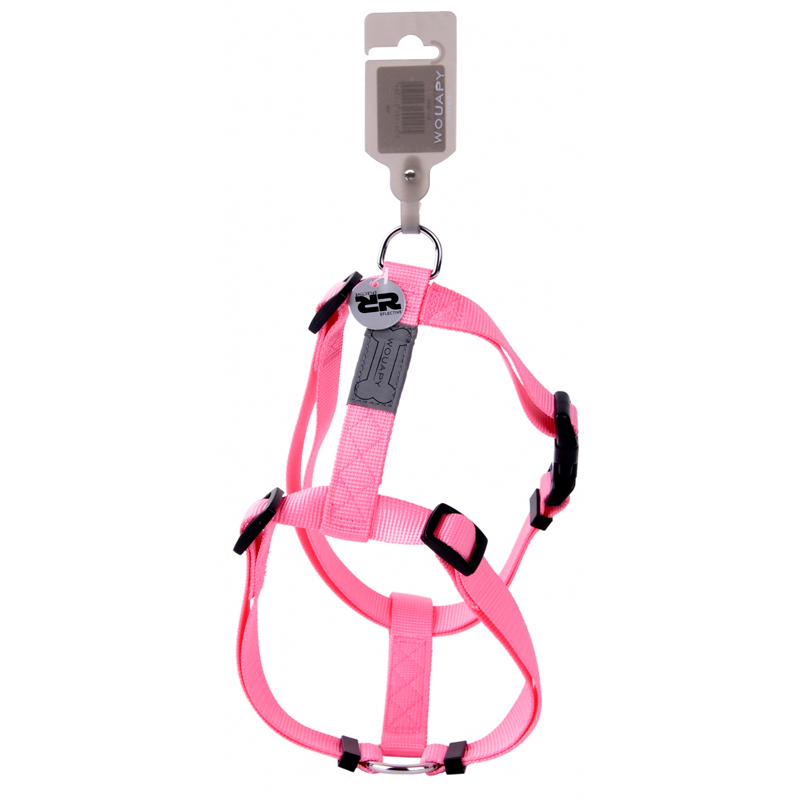 Wouapy Harness Basic Line Rosa For Dogs