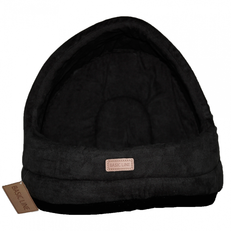 WouapyBasket Suede Dome Basic Line Cat Black