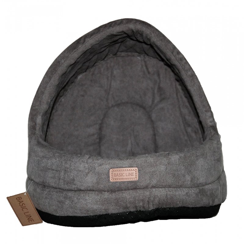 WouapyBasket Suede Dome Basic Line Cat Grey