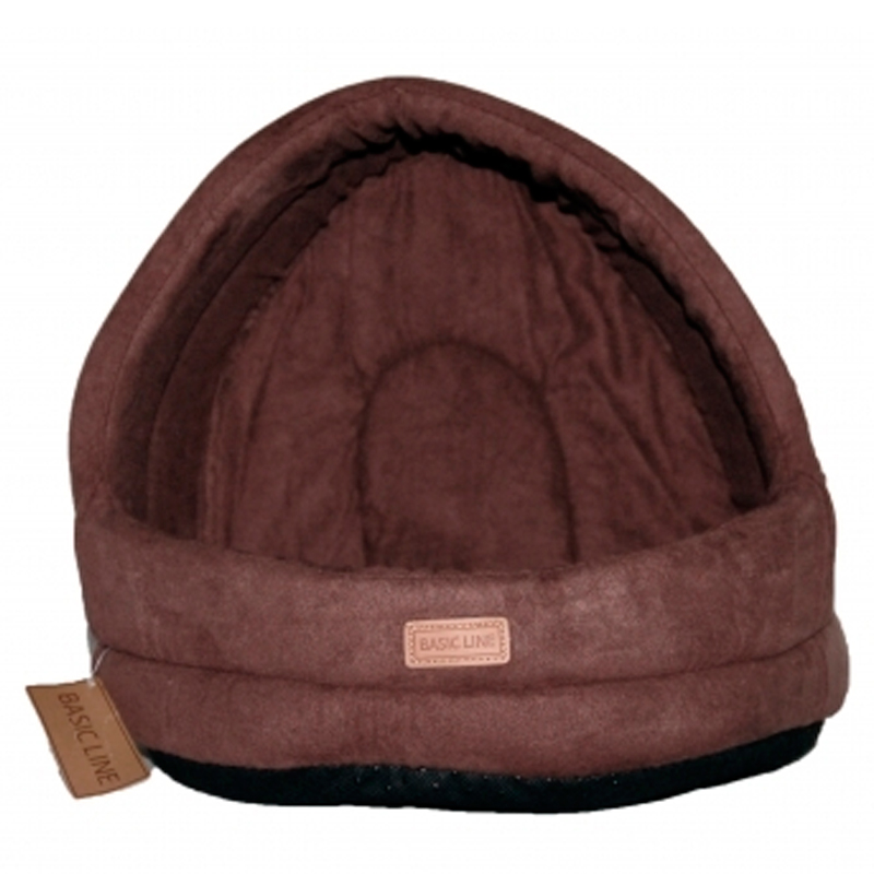 WouapyBasket Suede Dome Basic Line Cat Brown