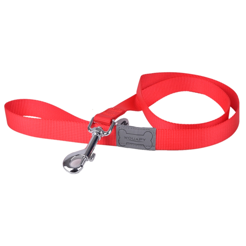 Wouapy Red Basic Line Strap For Dogs